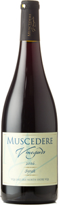 Muscedere Vineyards Syrah 2016, Lake Erie North Shore Bottle