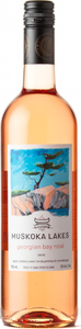 Muskoka Lakes Georgian Bay Rosé 2018 Bottle