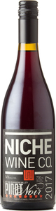 Niche Wine Company Pinot Noir 2017, Okanagan Valley Bottle