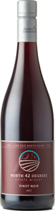 North 42 Degrees Estate Winery Pinot Noir 2017, Lake Erie North Shore Bottle