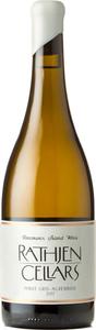 Rathjen Cellars Pinot Gris Auxerrois 2017, Vancouver Island Bottle
