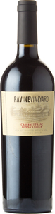 Ravine Vineyard Lonna's Block Cabernet Franc 2017, St. David's Bench Bottle