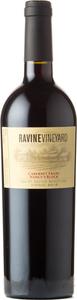 Ravine Vineyard Nancy's Block Cabernet Franc 2016, St. David's Bench Bottle