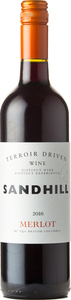 Sandhill Merlot Terroir Driven Wine 2016 Bottle