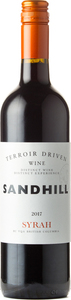 Sandhill Syrah Terroir Driven Wine 2017 Bottle