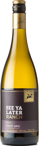 See Ya Later Ranch Pinot Gris 2018, Okanagan Valley Bottle