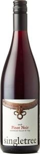 Singletree Pinot Noir 2016, Okanagan Valley Bottle