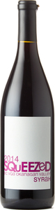 Squeezed Wines Syrah 2014, Okanagan Valley Bottle
