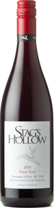 Stag's Hollow Pinot Noir Shuttleworth Creek Vineyard 2016, Okanagan Valley Bottle