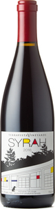 Terravista Vineyards Syrah 2016 Bottle