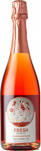 The Lakeview Wine Co. Fresh Possibilities Sparkling Rosé Bottle