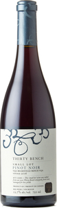 Thirty Bench Small Lot Pinot Noir 2016, VQA Beamsville Bench Bottle