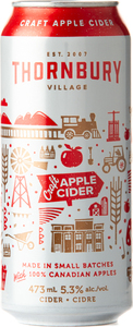 Thornbury Premium Apple Cider (473ml) Bottle