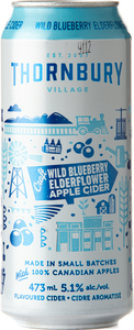 Thornbury Wild Blueberry Elderflower Apple Cider (473ml) Bottle