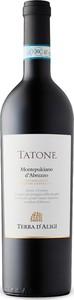 Terra D'aligi Tatone Montepulciano D'abruzzo 2014, Doc Bottle