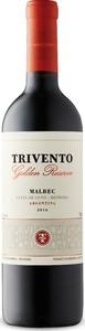 Trivento Golden Reserve Malbec 2016, Luján De Cuyo, Mendoza Bottle