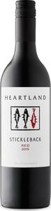 Heartland Stickleback Red 2015, Langhorne Creek, South Australia Bottle