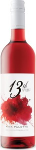 13th Street Pink Palette Rosé 2018, VQA Niagara Peninsula Bottle