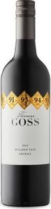 Thomas Goss Shiraz 2016, Mclaren Vale, South Australia Bottle