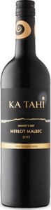 Ka Tahi Merlot/Malbec 2015, Hawke's Bay, North Island Bottle