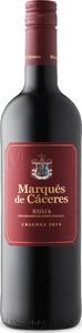 Marques De Caceres Rioja Crianza Red 2014 Bottle