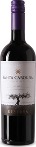 Santa Carolina Merlot Reserva 2018, Colchagua Valley Bottle