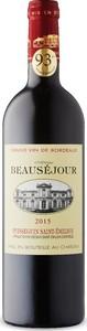 Château Beauséjour 2015, Ac Puisseguin Saint émilion Bottle
