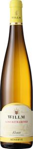 Willm Gewurztraminer Reserve 2017, Alsace Bottle