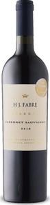 H J. Fabre Reserva Cabernet Sauvignon 2016, Mendoza Bottle