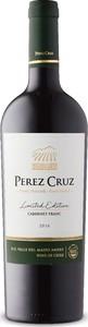 Pérez Cruz Limited Edition Cabernet Franc 2016, Fundo Liguai De Huelquén, Do Maipo Valley Bottle