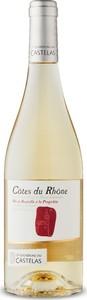 Les Vignerons Du Castelas Côtes Du Rhône 2017, Ac Bottle