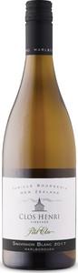 Clos Henri Petit Clos Sauvignon Blanc 2017, Marlborough, South Island Bottle