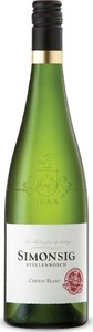 Simonsig Chenin Blanc 2018, Wo Stellenbosch Bottle