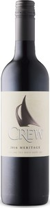 Colchester Ridge Crew Meritage 2016, VQA Lake Erie North Shore Bottle