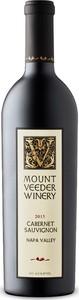 Mount Veeder Winery Cabernet Sauvignon 2015, Napa Valley Bottle