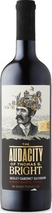 The Audacity Of Thomas G. Bright Merlot Cabernet Sauvignon 2017, Niagara Peninsula Bottle