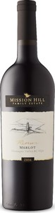 Mission Hill Reserve Merlot 2017, BC VQA Okanagan Valley Bottle