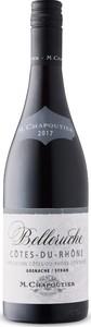 M. Chapoutier Belleruche Côtes Du Rhône Grenache/Syrah 2017, Ac Bottle