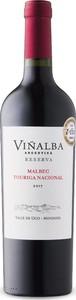 Viñalba Reserva Malbec/Touriga Nacional 2017, Uco Valley, Mendoza Bottle