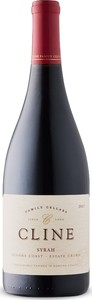 Cline Sonoma Coast Syrah 2017, Sonoma Coast, Sonoma County Bottle