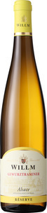 Willm Gewurztraminer Reserve 2018, Alsace Bottle