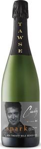 Cuddy By Tawse Sparkling, Traditional Method, VQA Twenty Mile Bench, Niagara Escarpment, Ontario Bottle
