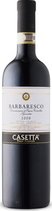 Casetta Barbaresco 2008, Docg Bottle