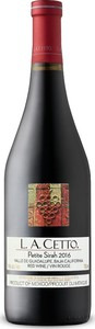 L.A. Cetto Petite Sirah 2016, Guadalupe Valley, Baja California Bottle