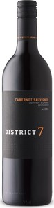 District 7 Cabernet Sauvignon 2016, Monterey County, Central Coast Bottle