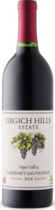 Grgich Hills Estate Cabernet Sauvignon 2014, Napa Valley Bottle