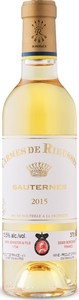 Carmes De Rieussec Sauternes 2015, Second Wine, Ac Sauternes (375ml) Bottle