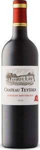 Château Teyssier 2016, Ac Montagne Saint émilion Bottle