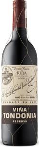 Vina Tondonia Red Reserva 2006, Rioja Alta Bottle
