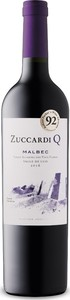 Zuccardi Q Malbec 2016, Uco Valley, Mendoza Bottle